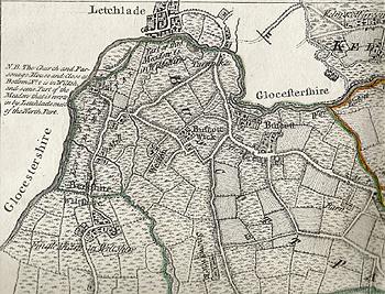 inglesham black dog map